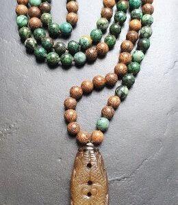 mala-gebetskette-afrikatuerkis-palisander-jade-schmuckwerkstatt-unikatschmuck